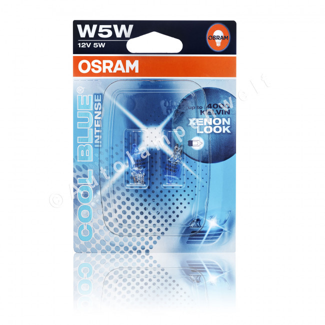 osram cool blue intense w5w. Black Bedroom Furniture Sets. Home Design Ideas
