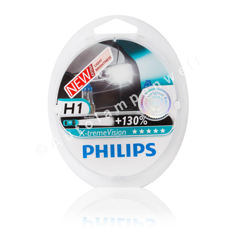 2 Stück Glühlampen GE Megalight Ultra H1 Halogen Plus 120/% DuoPack