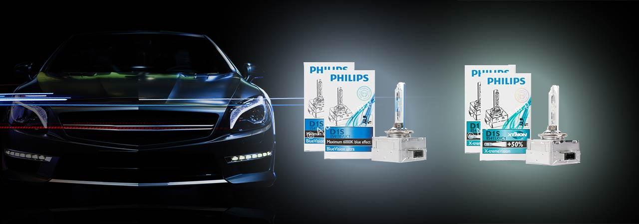 Philips X-treme Vision - die neue Generation Autolampen