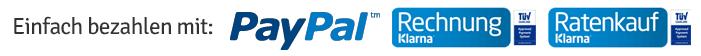 Einfach bezahlen mit Paypal Klarne Rechnung Klarna Ratenkauf